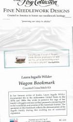Wagon Cross Stitch Bookmark Kit 1